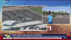 Free drive-thru COVID-19 testing at South Mountain Community College