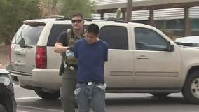 Man arrested, accused of leading police on pursuit in stolen truck