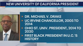 University of California system names first Black president