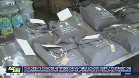 Children's Cancer Network holds school supply distribution in Phoenix