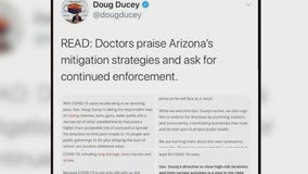 Arizona doctor fears closing and reopening trend if COVID-19 spread isn't slowed