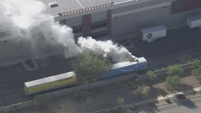 Amazon warehouse evacuated in Phoenix due to hazmat fire