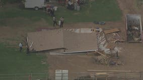 Man rescued after building collapses at construction site in Queen Creek