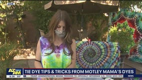 Tie dye tips, tricks from Motley Mama's Dyes