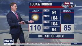 Saturday Morning Weather Forecast - 7/4/2020