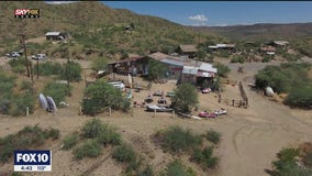 Drone Zone: Arizona ghost town up for sale