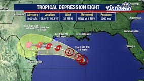 Gonzalo expected to become Atlantic's first hurricane; second storm likely in Gulf