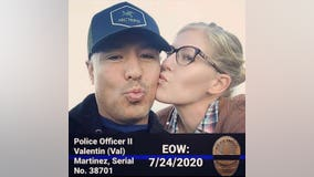 LAPD officer, whose wife is pregnant with twins, dies after 'long, courageous battle' with COVID-19