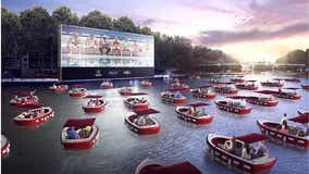 Floating cinema equipped with social distancing boats coming to Los Angeles