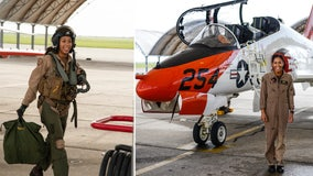 US Navy's 1st Black female Tactical Aircraft pilot earns 'Wings of Gold'