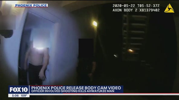 Police body camera video captures moments before deadly officer-involved shooting in Ahwatukee