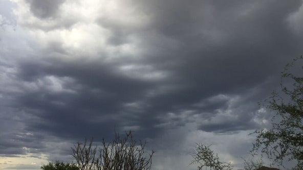 NWS: Storm cells moved into Maricopa County