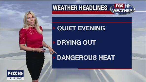 9 p.m. Weather Forecast 7/28/20