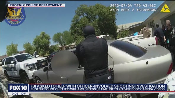 FBI investigating Phoenix Police Department's July 4th deadly officer-involved shooting