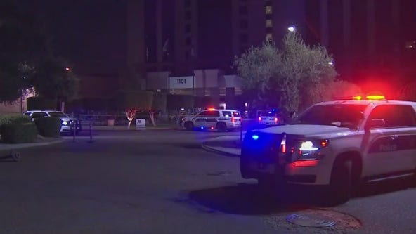 Person found shot at parking lot of Phoenix hotel