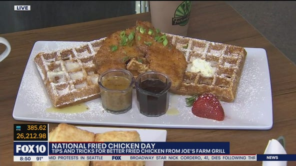 National Fried Chicken Day: Tips, tricks for better fried chicken from Joe's Farm Grill