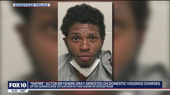 Goodyear PD: 'Empire' actor arrested on domestic violence charges