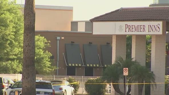 Police investigating officer-involved shooting outside Phoenix motel