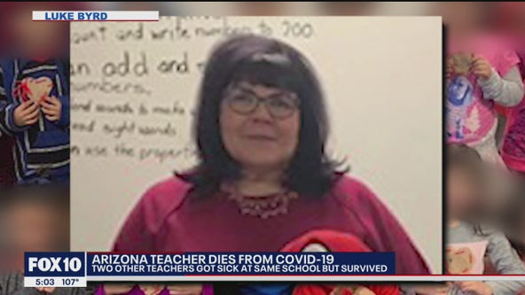 Famiyl speaks out after teacher in Gila County dies following brief COVID-19 fight
