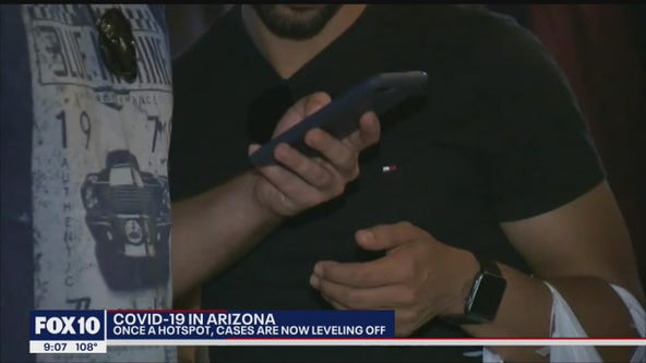 Cell phone data gives snapshot of COVID-19's spread in Arizona