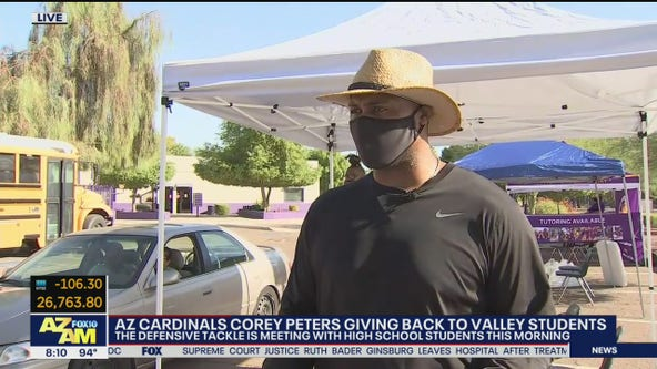 Cardinals' Corey Peters giving back to Valley students