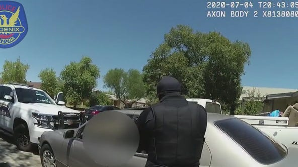 Phoenix PD releases body cam footage of July 4th officer-involved shooting, suspect identified