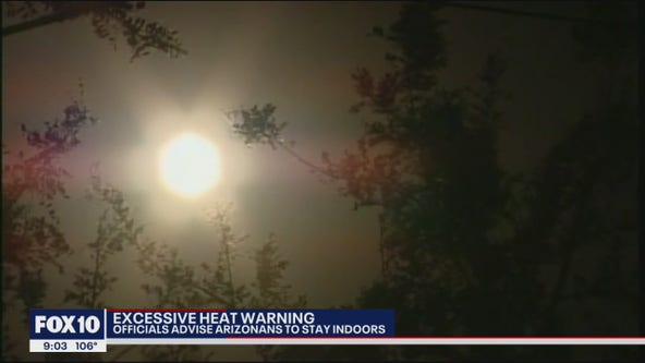 Fire officials asking Valley residents to stay home amid excessive heat forecast