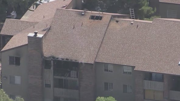 Woman found dead following north Phoenix apartment fire