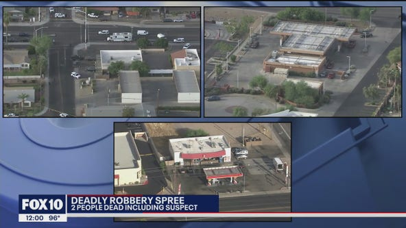 Police: Robbery suspect dead following gunfight in Scottsdale