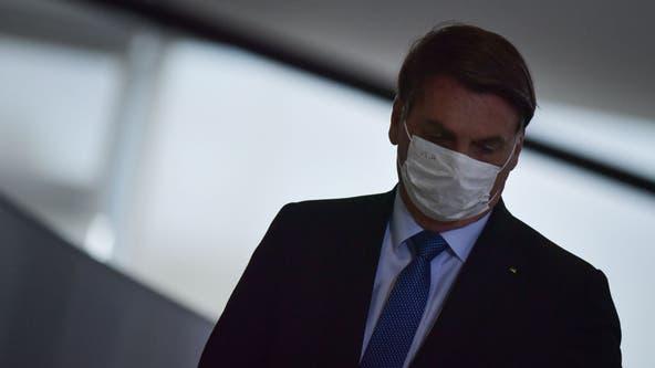 Brazil's President Bolsonaro tests positive for COVID-19