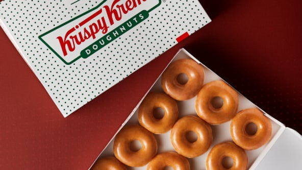 Krispy Kreme celebrates 83rd birthday by giving away free glazed doughnuts