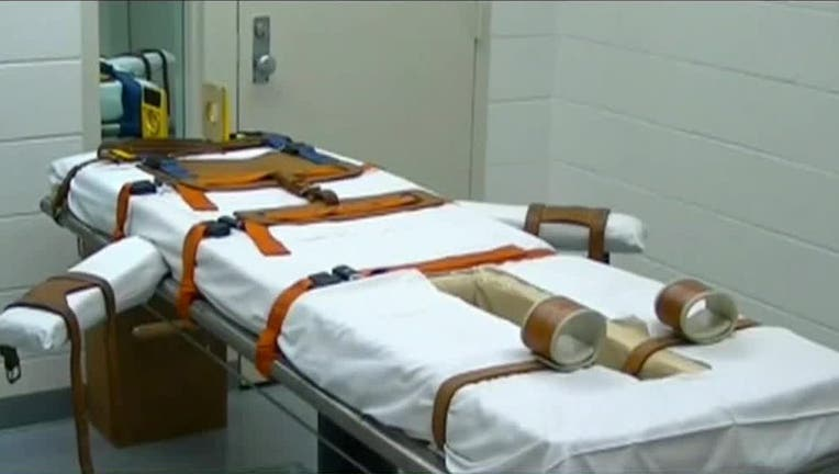 lethal injection table