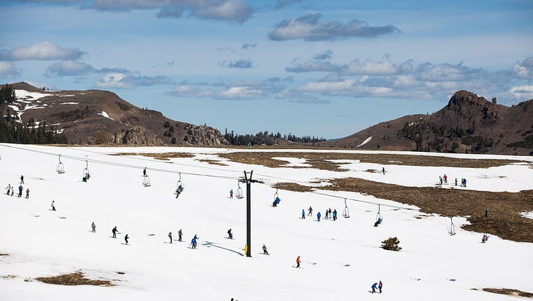 Dismal Snowpack In Sierra Mtns. Worsens State's Four-Year Drought, And Takes Toll On Tahoe-Area Ski Industry