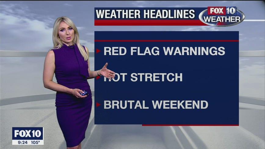 9 p.m. Weather Forecast 7/6/20