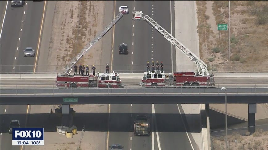 Procession held for helicopter pilot killed while battling Polles Fire