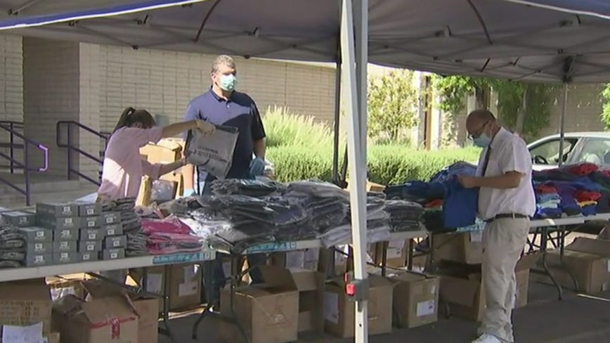 Phoenix-based homeless nonprofit receives huge clothing donation