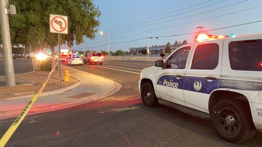 PD: Pedestrian struck, killed near Phoenix intersection