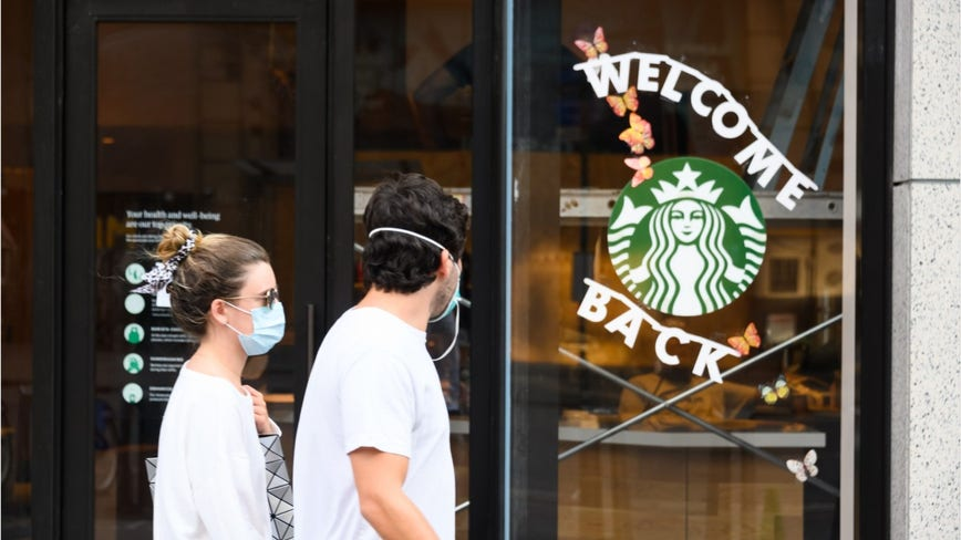 Starbucks to require customers to wear face masks inside locations starting July 15