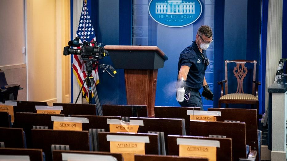 d8292bda-White House Press Secretary Kayleigh McEnany Holds Press Briefing