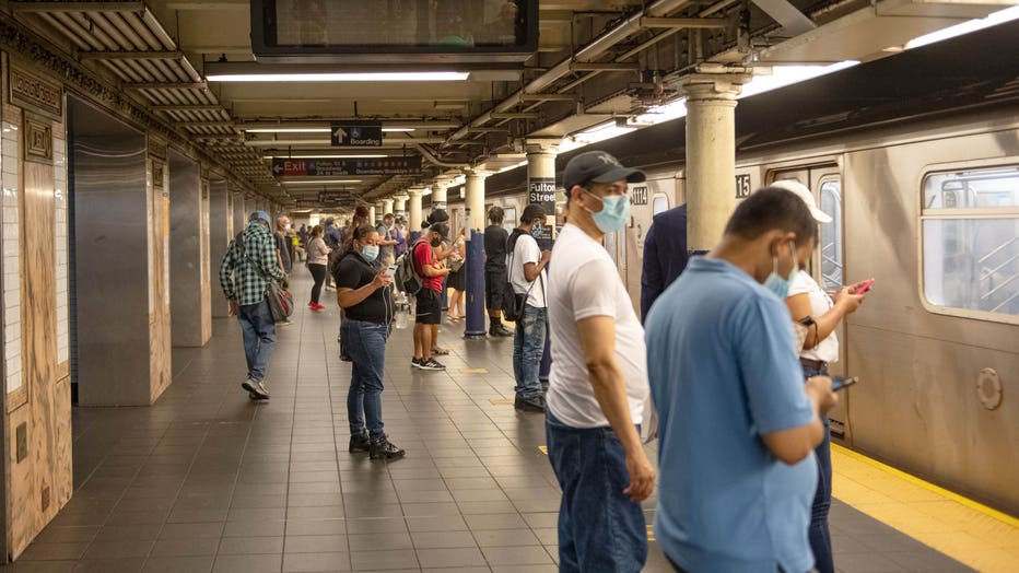 b05608c5-Re-opening Continues Across Densely Populated New York And New Jersey Areas