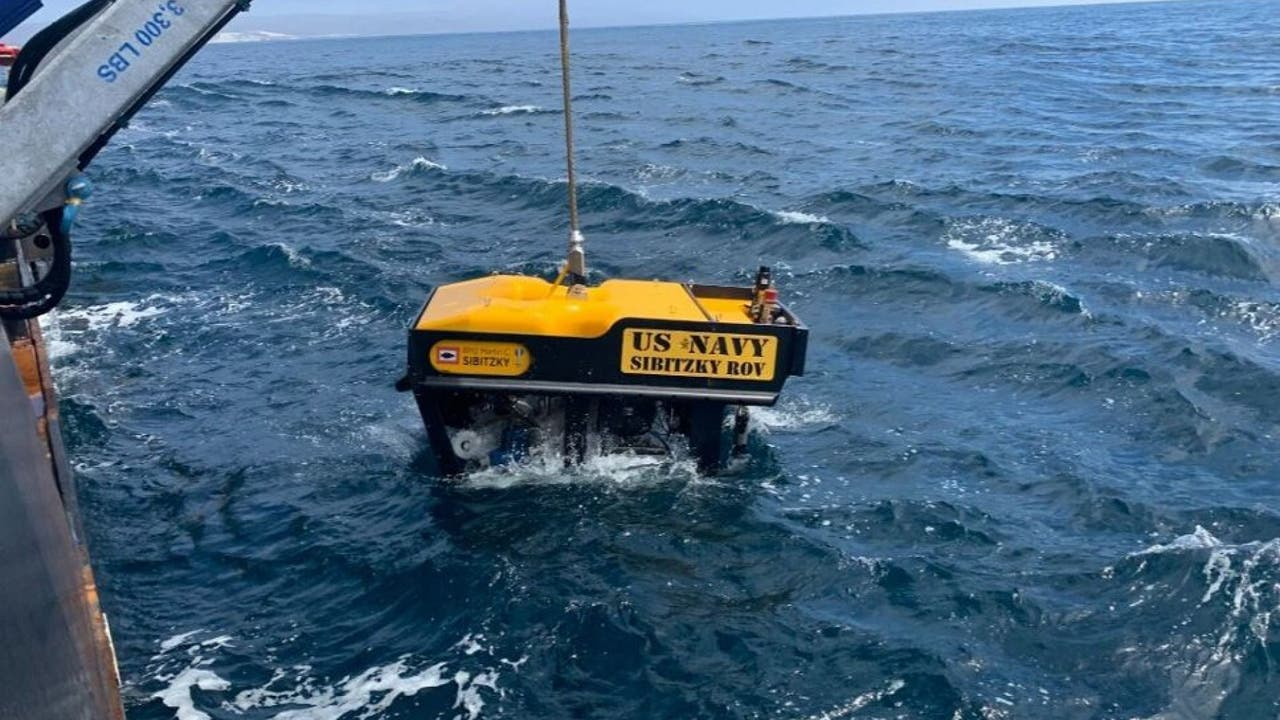 Missing amphibious vehicle found off California, including remains