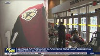 Arizona Coyotes host blood drive at Gila River Arena