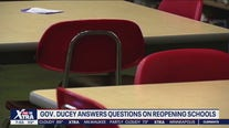 Gov. Ducey answers questions on school reopening