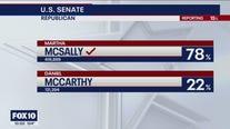 10PM Arizona Primary Results snapshot