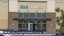 EoS Fitness reopens gym locations