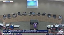 Seven Queen Creek teachers resign after district votes to return to in-person learning
