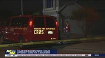 PD: Car crashes into South Phoenix home, driver hospitalized
