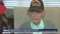 WWII veteran honored by Trump at Phoenix rally dies