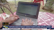 Noticing abuse or neglect among students during virtual learning