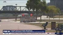 Portions of Tempe Beach Park back open